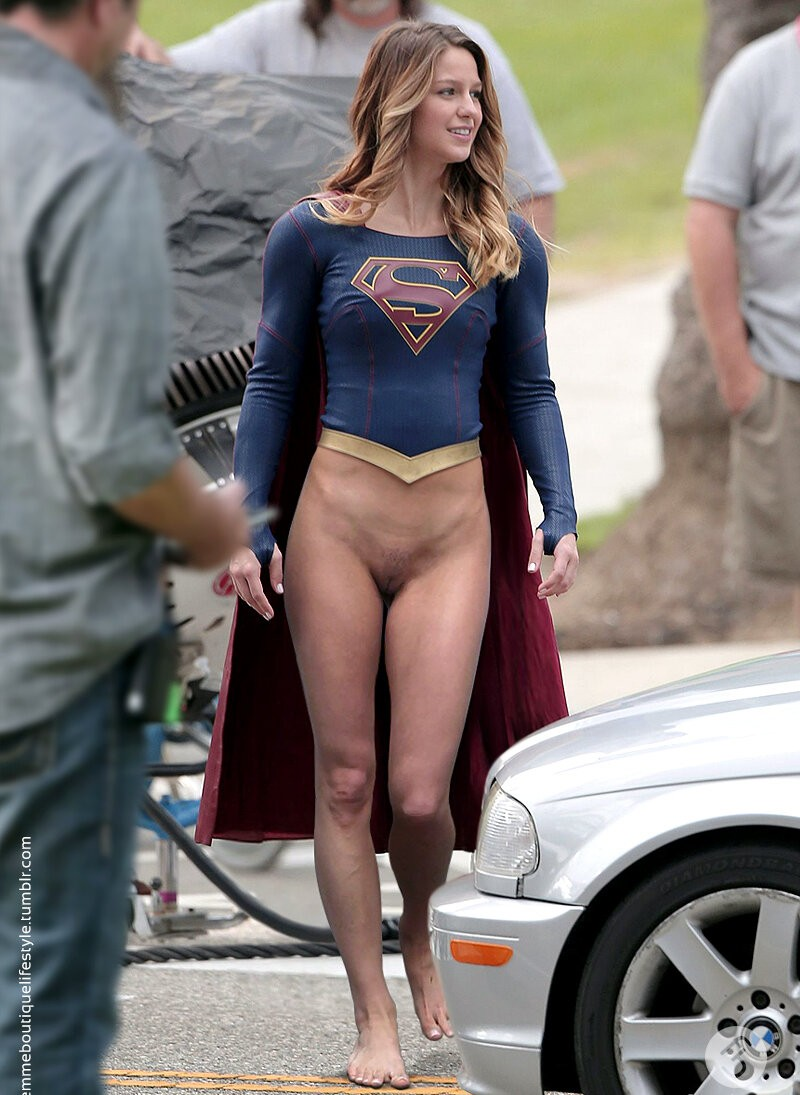 Hot Threats In Supergirl's Pussy