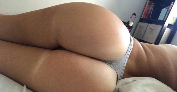 Nothing finer than beginning the day off with a ass-selfie :