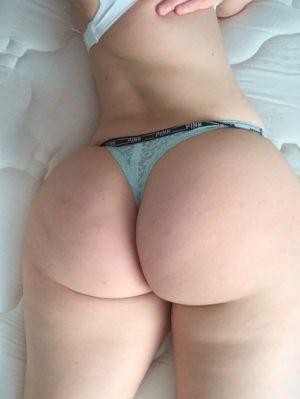 Pic - pallid phat ass milky girl bubblebutt