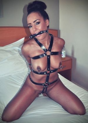 Pic - Even the cutest wives like being bound up for others to love
