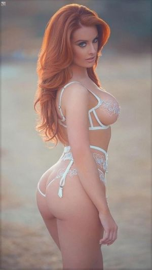 Pic - ginger-haired queen
