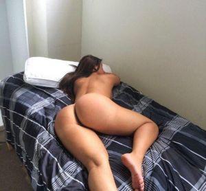 Pic - huge butt sleeping