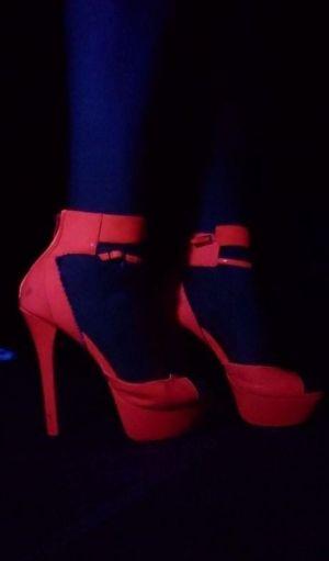 Pic - fresh high-heeled slippers