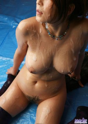 Pic - molten tits with jizz overcharge