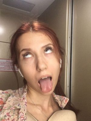 Pic - My attempt making promiscuous ahegao face. like me if i am slut