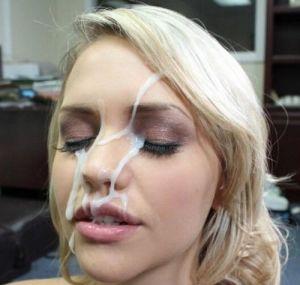 Pic - milky nectar facial cumshot