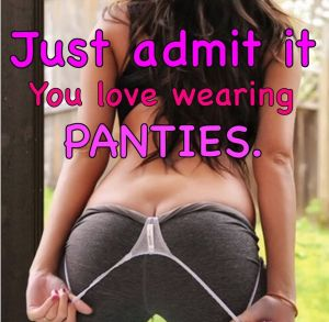 Pic - You love dressed in undies