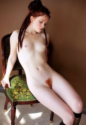 Pic - cream colored milky ginger vagina