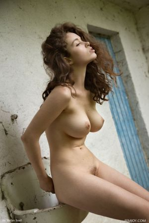 Pic - handsome ebony-haired with utter plump boobs