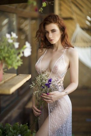 Pic - ginger-haired bohemian